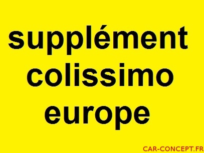SUPPLEMENT COLISSIMO EUROPE