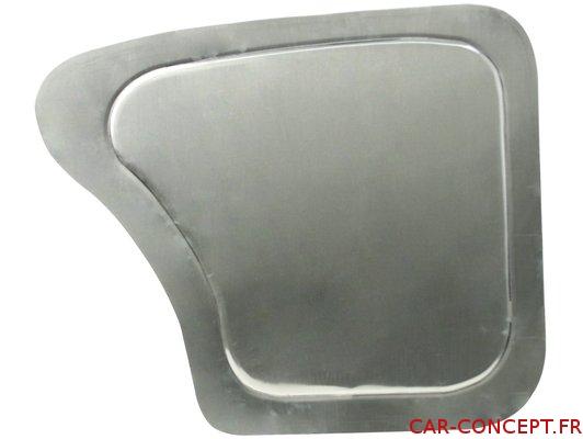 Panneau arrière en aluminium 65->