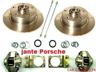 Kit frein à disque avant pour 1302/1303 perçage porsche