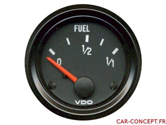 Manomètre de jauge à essence VDO