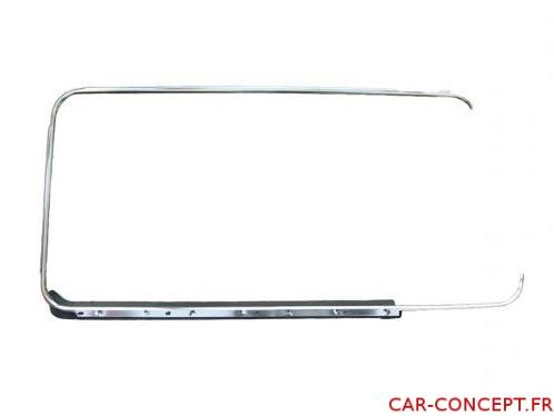 Tour de vitre aluminium droit Combi 68/79 Q+