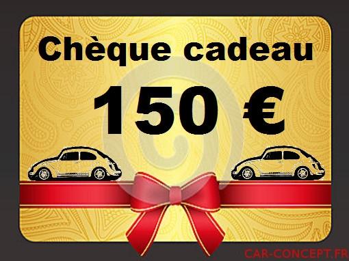Chèque cadeau de 150 euros