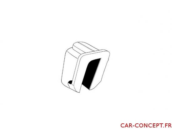 Plastique haut de coulisseau cox cabriolet (pièce)