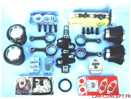 Kit moteur performance 1641cc 66-> potentiel 60 à 85cv