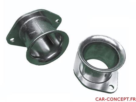 Cornet pour carburateur Weber IDF aluminium (la paire) 42mm
