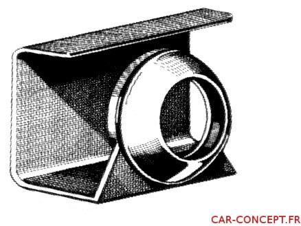 Caoutchouc de protection goulotte remplissage d'essence T14