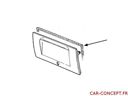 Joint de capot moteur pour Combi 72->