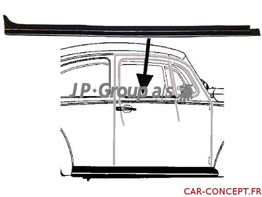 Lèche vitre intérieur droit 65->