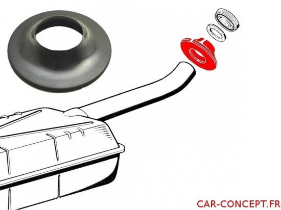 Caoutchouc de canne de remplissage réservoir d'essence Combi 55/67
