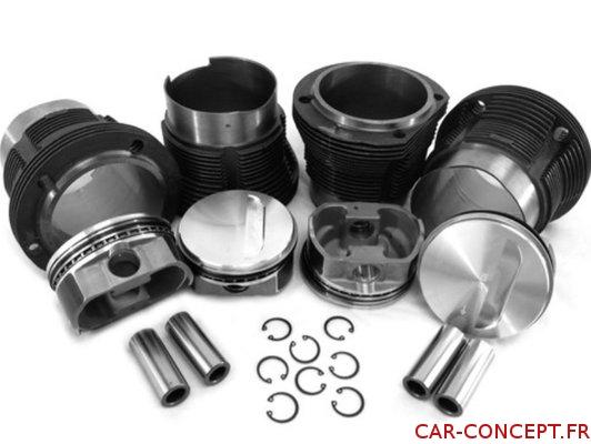 Kit chemises/pistons 103mm X 71 AA performance (2366cc)