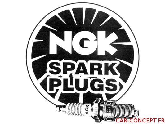 Bougie NGK 12mm pour culasse CB 044