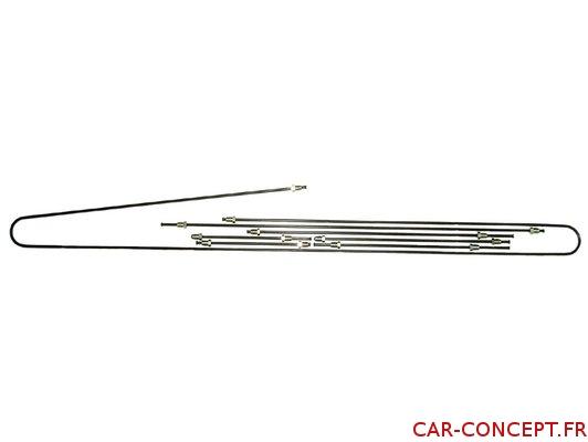 Kit tuyau de frein métal pour Combi 71/79  Q+