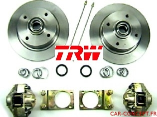 Kit frein à disque avant pour 1302/1303 option TRW