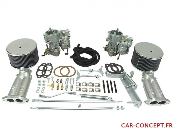 Kit de 2 carburateurs EMPI 40 KADRON