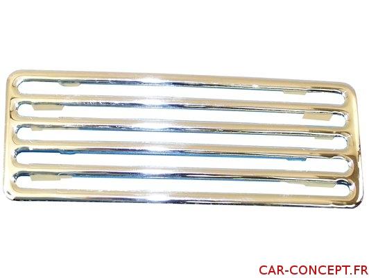 Grille aluminium de capot arrière 2 pièces