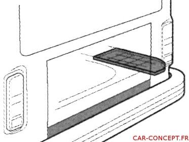 plancher support de batterie combi 73/79