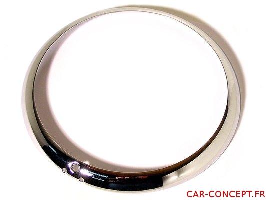 Cercle de phare chrome modéle USA pour karmann-Ghia