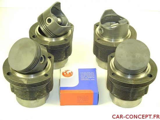 Kit chemises/pistons type 4 90 mm 1700CC piston plat