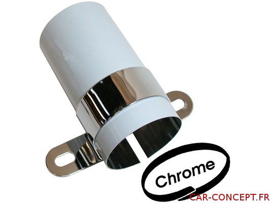 Couvre bobine chrome