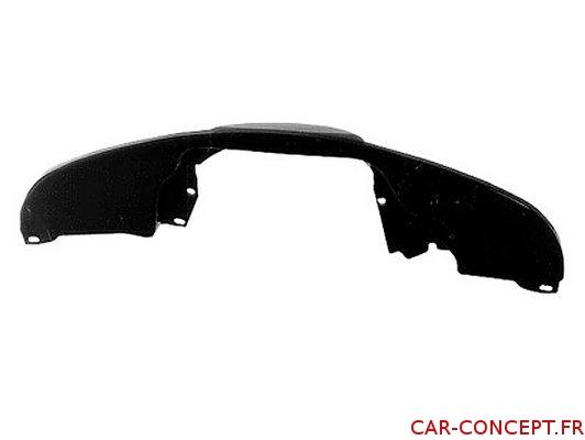 Tôle arrière noire (modèle sans chauffage)