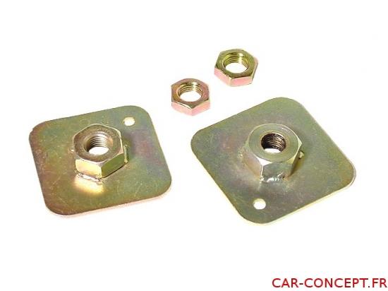 Plaques de fixation pour ancrage de ceinture (2)