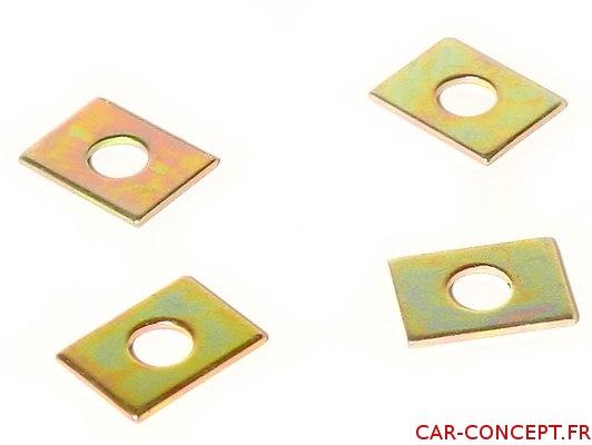 Cales de rampes de culbuteur (4) 0.38mm