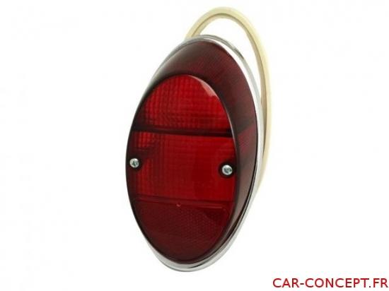 Vitre de feu arrière rouge 62/73 USA 1200 Q+