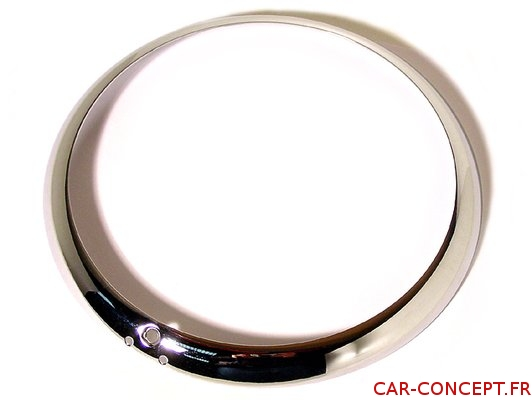 Cercle de phare chromé pour Karmann Ghia européen