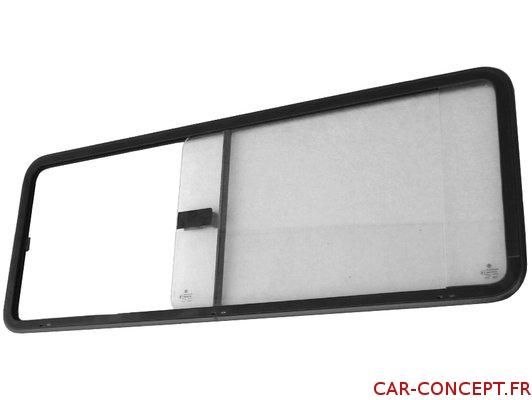 Vitre latérale coulissante milieu droit pour Combi 68/79