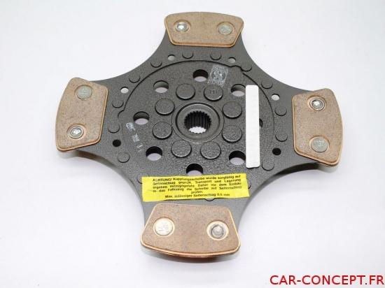 disque d'embrayage 215mm 4 patins SACHS compétition