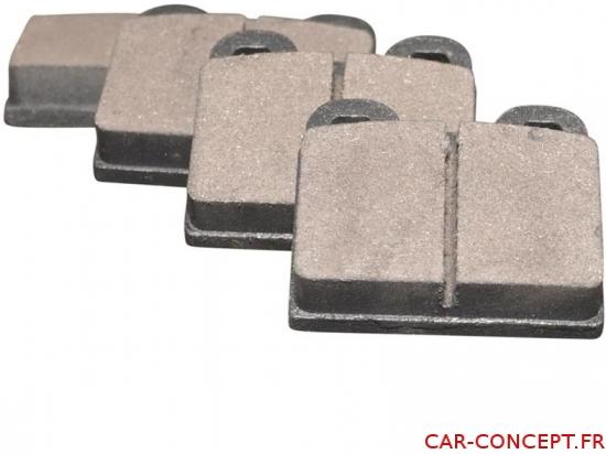 Plaquettes de frein carré 2 oreilles 1972