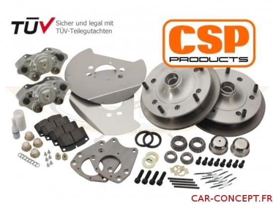 Kit frein à disque avant CSP 5 trous 5 X 205 1200 ->65