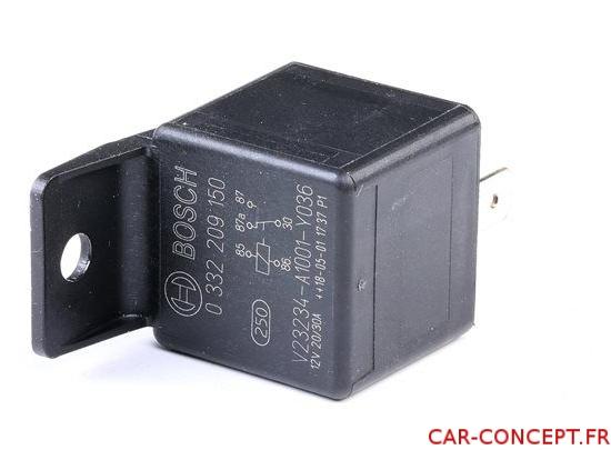 Relais universel 12V 30A Bosch