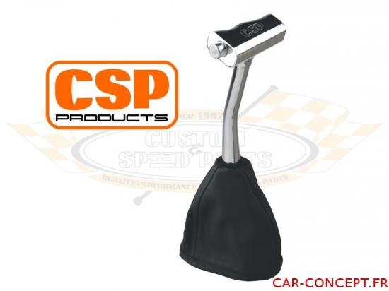Levier de vitesse CSP aluminium avec poignée en T