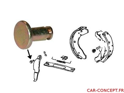 Pivot pour levier  de frein à main