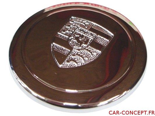 Capuchon chrome de jante Porsche FUCHS plastique chromé