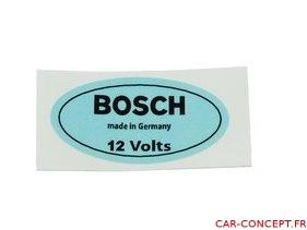 Étiquette autocollant de bobine 12V