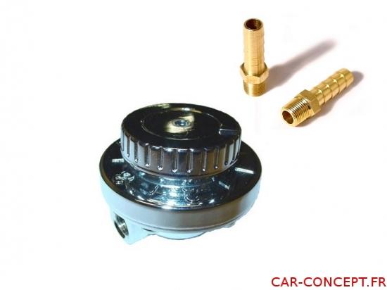 Régulateur de pression d'essence + embouts 6mm