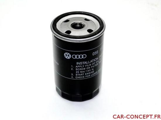 Filtre à huile standard qualité VW Q+