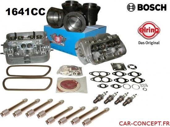 Kit moteur 1641cc complet avec culasses renforcées sans plomb SP95 et SP98