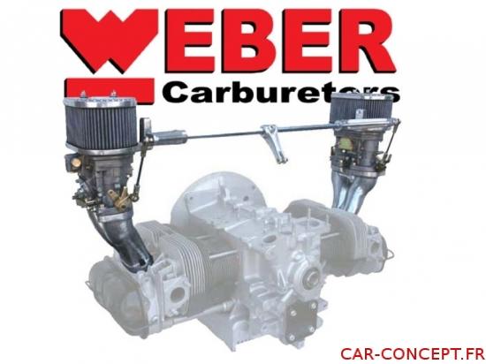Kit 2 carburateurs WEBER IDF 48 CB PERFORMANCE