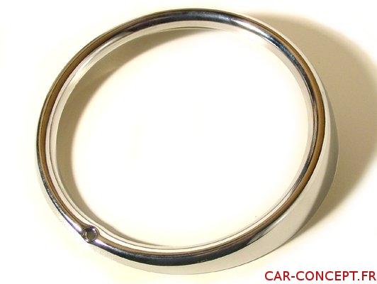 Cercle chrome de phare H4 1er prix