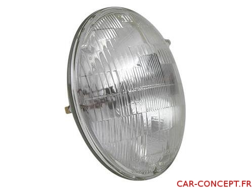 """Optique type """"sealed beam"""" (phare USA ou buggy) 12volts"""
