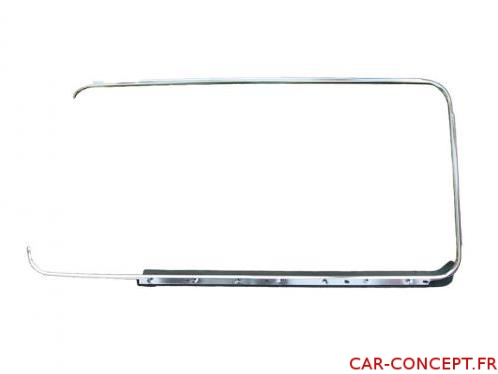 Tour de vitre aluminium gauche Combi 68/79 Q+
