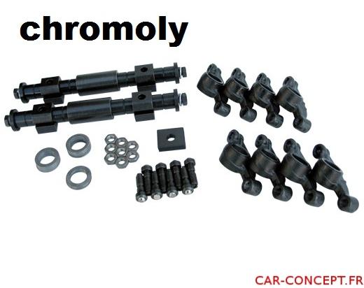 paire de rampe de culbuteur 1.1 renforcé acier Chromoly