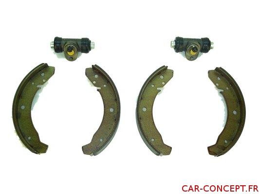 Kit frein arrière 1200/1300 58/68 qualité supérieure