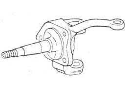 Fusée gauche reconditionné pour frein à tambour 1200/1300