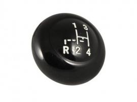 Pommeau de levier VINTAGE SPEED noir M10