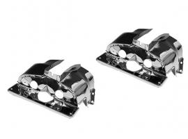 Couvre cylindre chrome simple admission pour 1300/1500/1600 paire