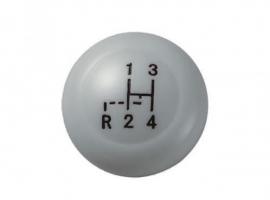 Pommeau de levier VINTAGE SPEED gris M12